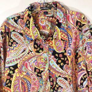Chaps Paisley Button Down Shirt